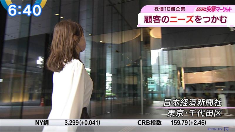 【女子アナキャプ画像】テレ東アナウンサーの着衣おっぱいと透けブラ! 36