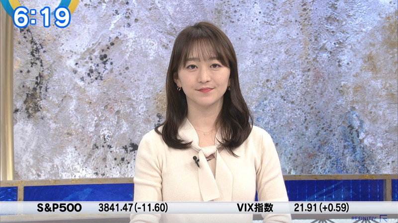 【女子アナキャプ画像】テレ東アナウンサーの着衣おっぱいと透けブラ! 42