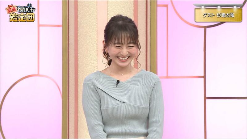 【女子アナキャプ画像】テレ東アナウンサーの着衣おっぱいと透けブラ! 51