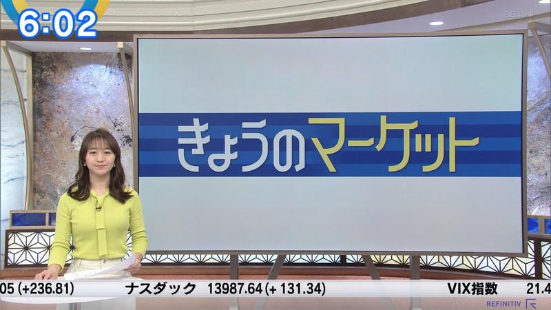 【女子アナキャプ画像】テレ東アナウンサーの着衣おっぱいと透けブラ! 61