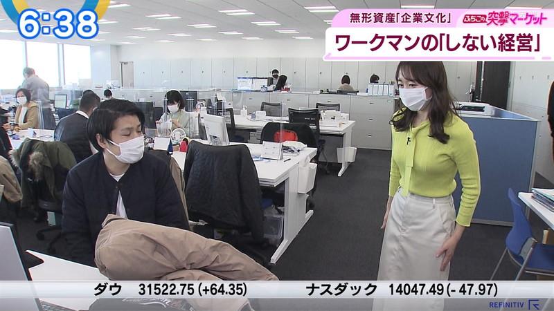 【女子アナキャプ画像】テレ東アナウンサーの着衣おっぱいと透けブラ! 64