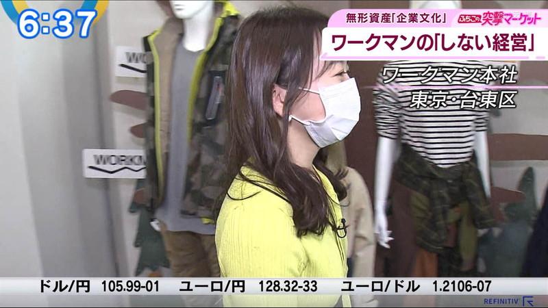 【女子アナキャプ画像】テレ東アナウンサーの着衣おっぱいと透けブラ! 69