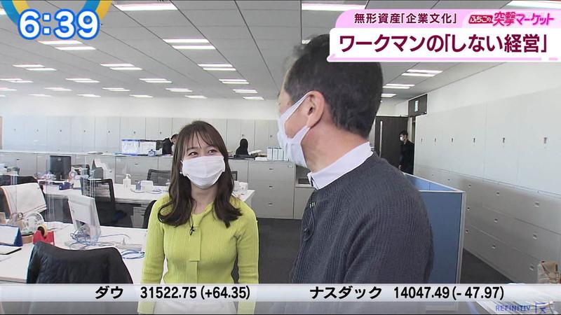【女子アナキャプ画像】テレ東アナウンサーの着衣おっぱいと透けブラ! 74