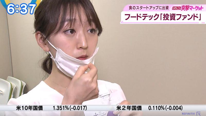 【女子アナキャプ画像】テレ東アナウンサーの着衣おっぱいと透けブラ! 75