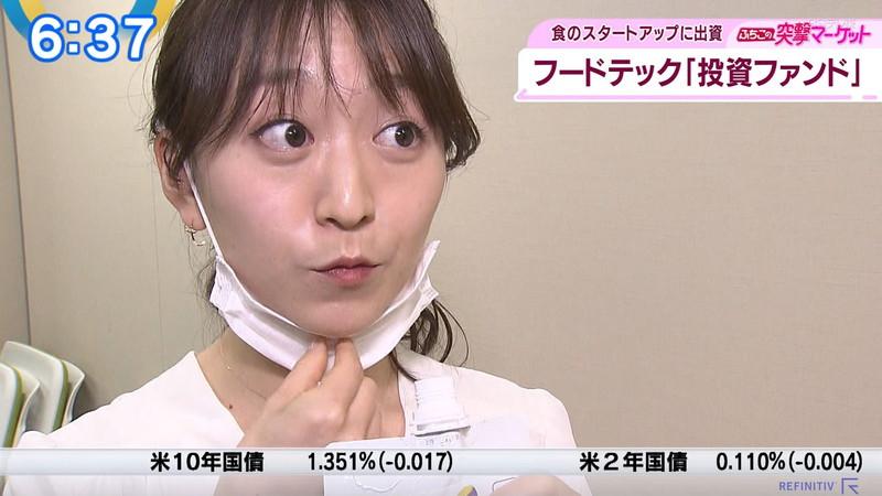 【女子アナキャプ画像】テレ東アナウンサーの着衣おっぱいと透けブラ! 76