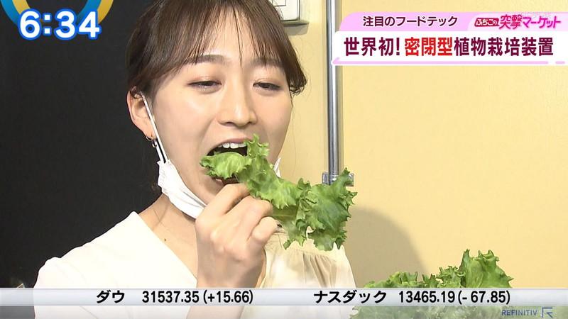 【女子アナキャプ画像】テレ東アナウンサーの着衣おっぱいと透けブラ! 80