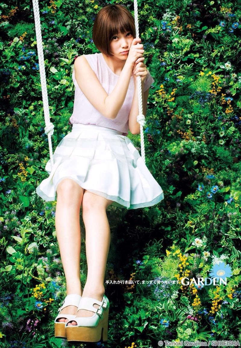 【本田翼エロ画像】ゲーム実況配信で炎上してしまった人気女優のセクシー画像 54