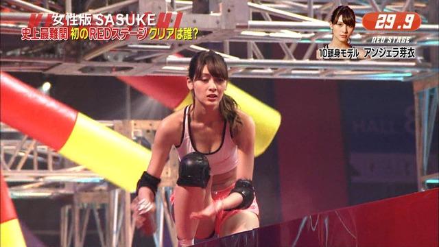 【アンジェラ芽衣エロ画像】ハーフ美人モデルが仮面ライダーで女優デビューしたとかw 09