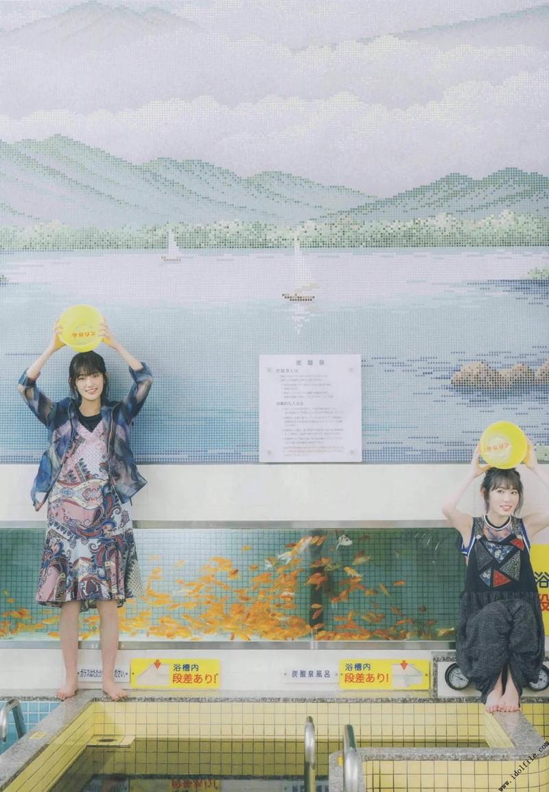 【井上梨名キャプ画像】ハタチになったばかりの笑顔が可愛い櫻坂46アイドル 43