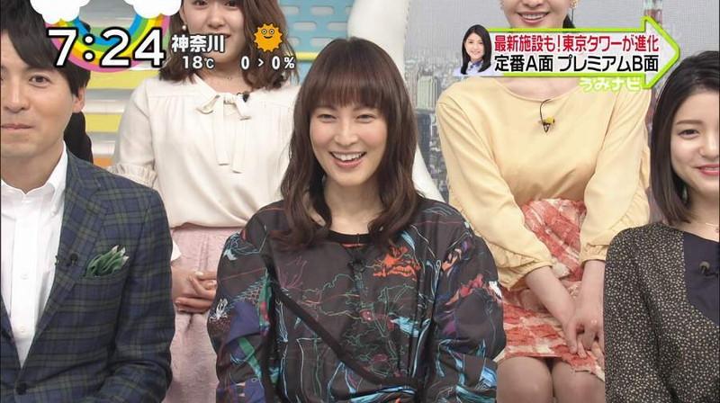 【女子アナキャプ画像】日テレ女子アナウンサーの食レポと着衣おっぱい 05