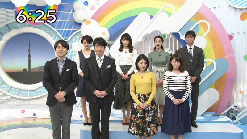 【女子アナキャプ画像】日テレ女子アナウンサーの食レポと着衣おっぱい 29