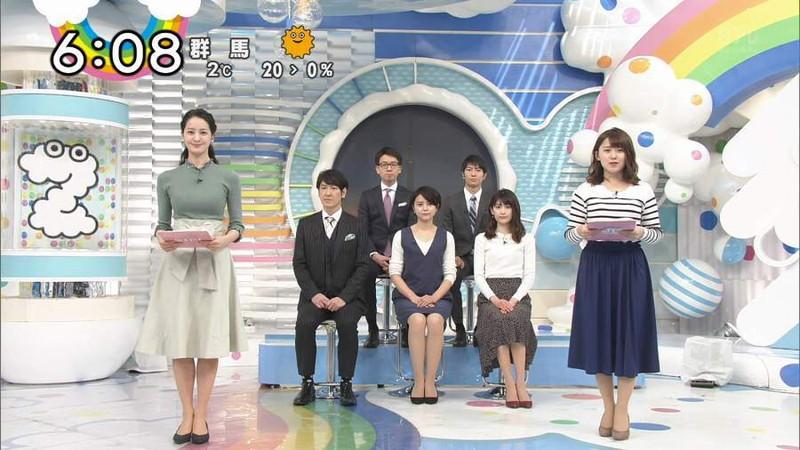 【女子アナキャプ画像】日テレ女子アナウンサーの食レポと着衣おっぱい 33