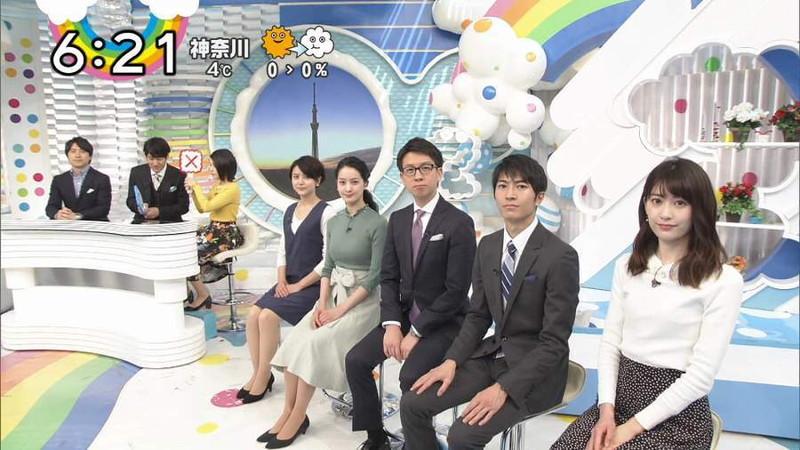 【女子アナキャプ画像】日テレ女子アナウンサーの食レポと着衣おっぱい 38