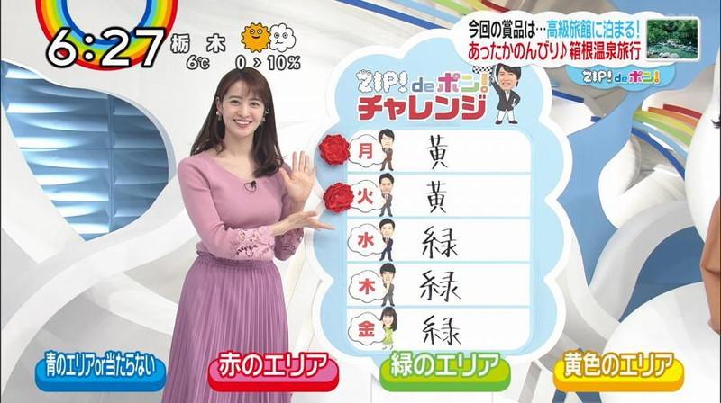 【女子アナキャプ画像】日テレ女子アナウンサーの食レポと着衣おっぱい 50