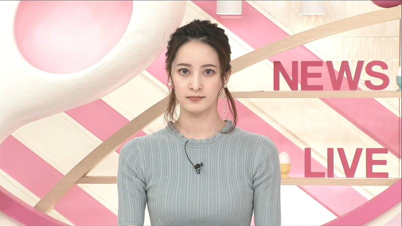 【女子アナキャプ画像】日テレ女子アナウンサーの食レポと着衣おっぱい 78