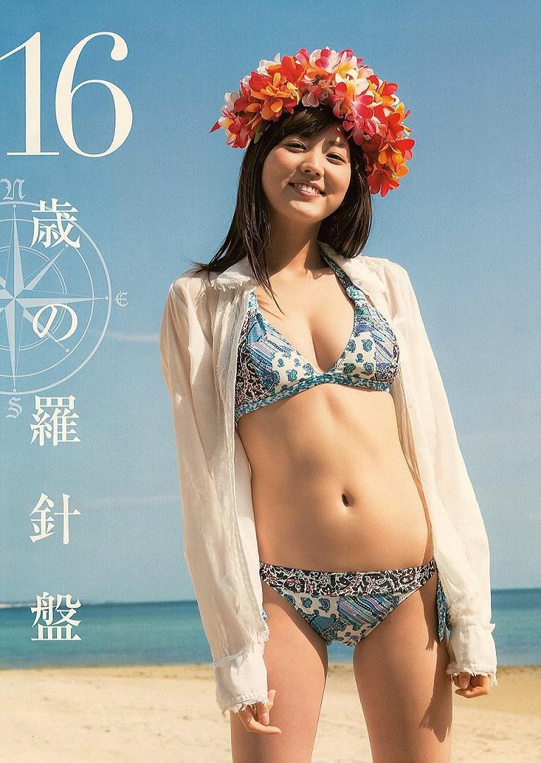 【岩崎名美グラビア画像】168cm長身ボディにカモシカ脚が特徴的なモデル美女 48