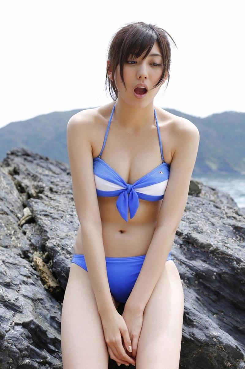 【岩崎名美グラビア画像】168cm長身ボディにカモシカ脚が特徴的なモデル美女 60