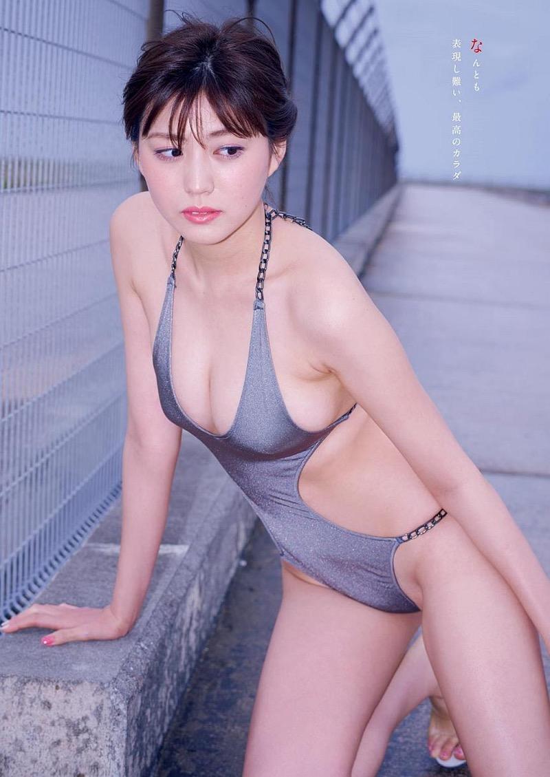 【岩崎名美グラビア画像】168cm長身ボディにカモシカ脚が特徴的なモデル美女 76