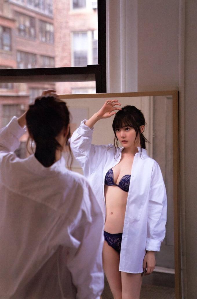 【生田絵梨花グラビア画像】アイドルは女優になる為の糧というストイック美女 52