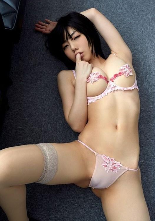 【永岡怜子ヌード画像】Gカップ巨乳ボディをヘアヌードで魅せつけるエロ美女 14