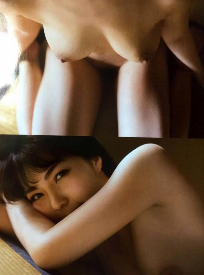 【永岡怜子ヌード画像】Gカップ巨乳ボディをヘアヌードで魅せつけるエロ美女 24