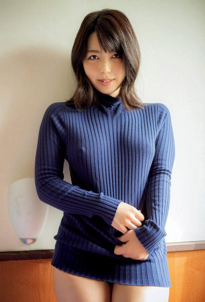 【永岡怜子ヌード画像】Gカップ巨乳ボディをヘアヌードで魅せつけるエロ美女 43