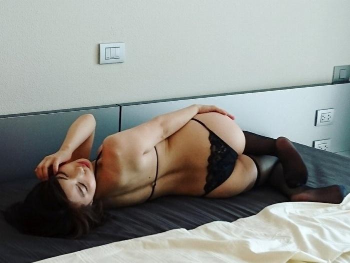【永岡怜子ヌード画像】Gカップ巨乳ボディをヘアヌードで魅せつけるエロ美女 61