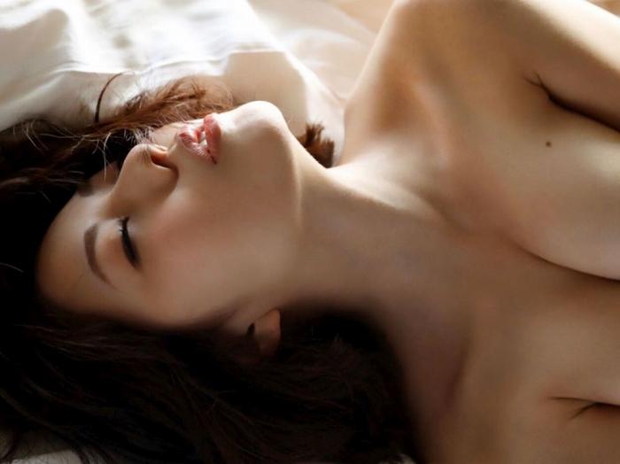 【永岡怜子ヌード画像】Gカップ巨乳ボディをヘアヌードで魅せつけるエロ美女 62