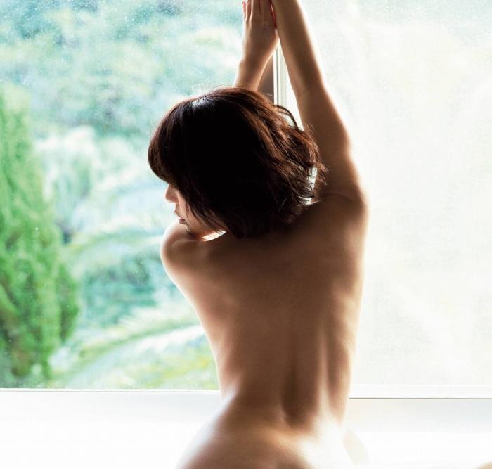 【永岡怜子ヌード画像】Gカップ巨乳ボディをヘアヌードで魅せつけるエロ美女 64