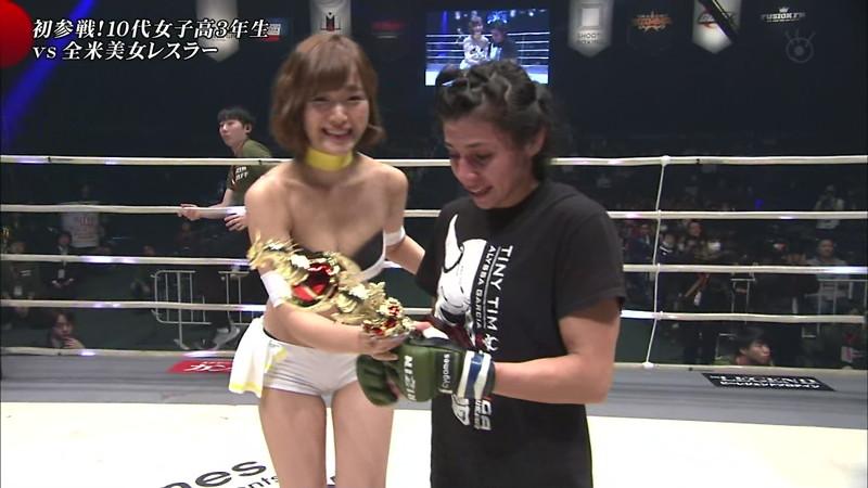【ラウンドガールエロ画像】格闘技のリングを華やか彩る美女たち 25