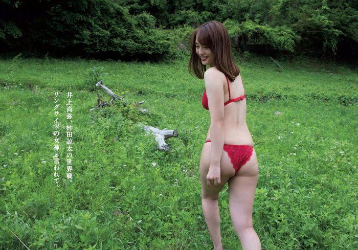 【神部美咲グラビア画像】手ぶらヌードまで披露した美人タレントのエロ写真 13