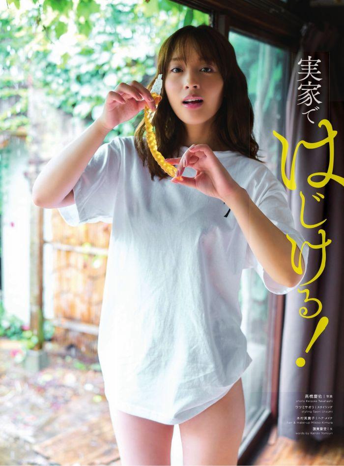 【神部美咲グラビア画像】手ぶらヌードまで披露した美人タレントのエロ写真 33