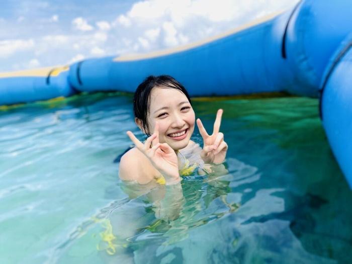 【石田千穂グラビア画像】突然活動休止を発表した美少女センターアイドル 11