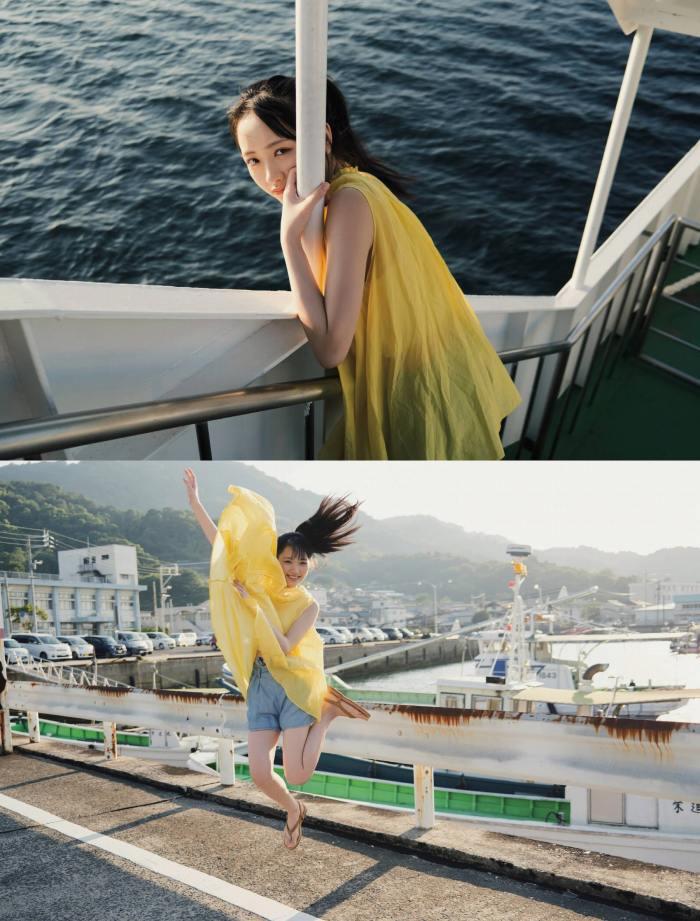 【石田千穂グラビア画像】突然活動休止を発表した美少女センターアイドル 19