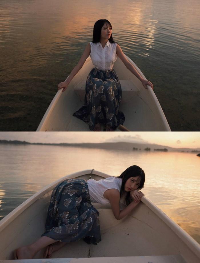 【石田千穂グラビア画像】突然活動休止を発表した美少女センターアイドル 29
