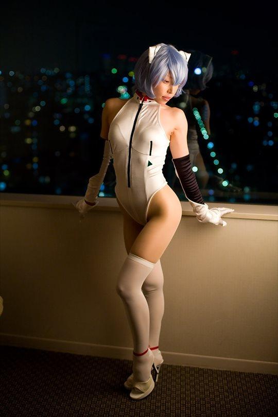 【コスプレエロ画像】完結したエヴァのヒロインに扮したレイヤー美女 07