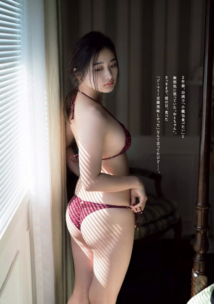 【安倍乙グラビア画像】スレンダーに見えるけどお尻が大きいエロボディ 35