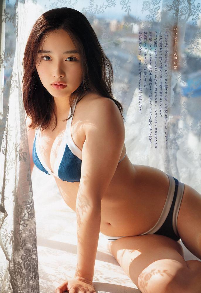 【安倍乙グラビア画像】スレンダーに見えるけどお尻が大きいエロボディ 73