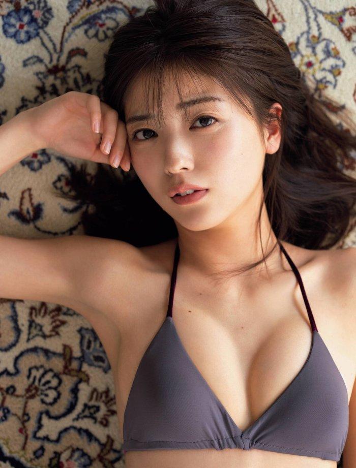 【工藤美桜グラビア画像】小学4年からモデルやってる細身美女のビキニ姿 42