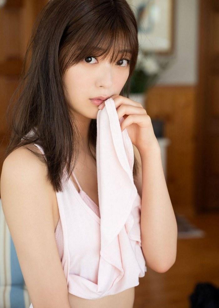 【工藤美桜グラビア画像】小学4年からモデルやってる細身美女のビキニ姿 48