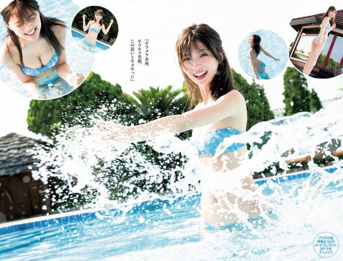 【工藤美桜グラビア画像】小学4年からモデルやってる細身美女のビキニ姿 57