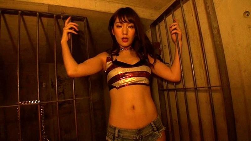 【上福ゆきエロ画像】高身長Fカップ巨乳のド迫力ボディがリングに舞う! 16