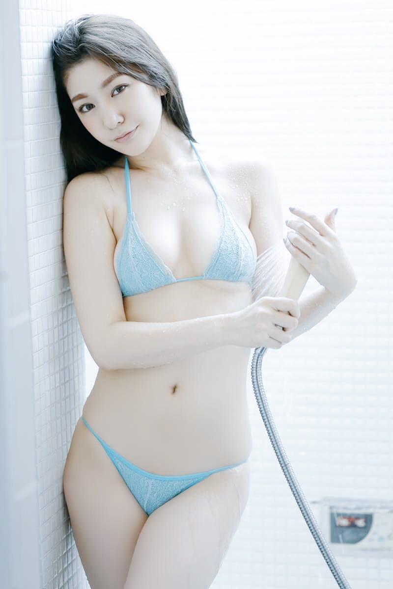 【上福ゆきエロ画像】高身長Fカップ巨乳のド迫力ボディがリングに舞う! 28