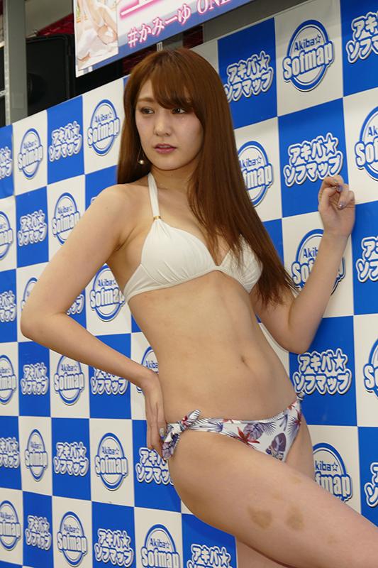 【上福ゆきエロ画像】高身長Fカップ巨乳のド迫力ボディがリングに舞う! 66