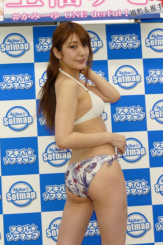 【上福ゆきエロ画像】高身長Fカップ巨乳のド迫力ボディがリングに舞う! 67