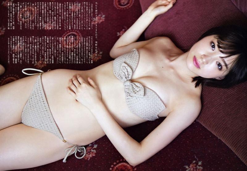 【太田夢莉グラビア画像】ショートヘアが似合って可愛い元アイドル 04