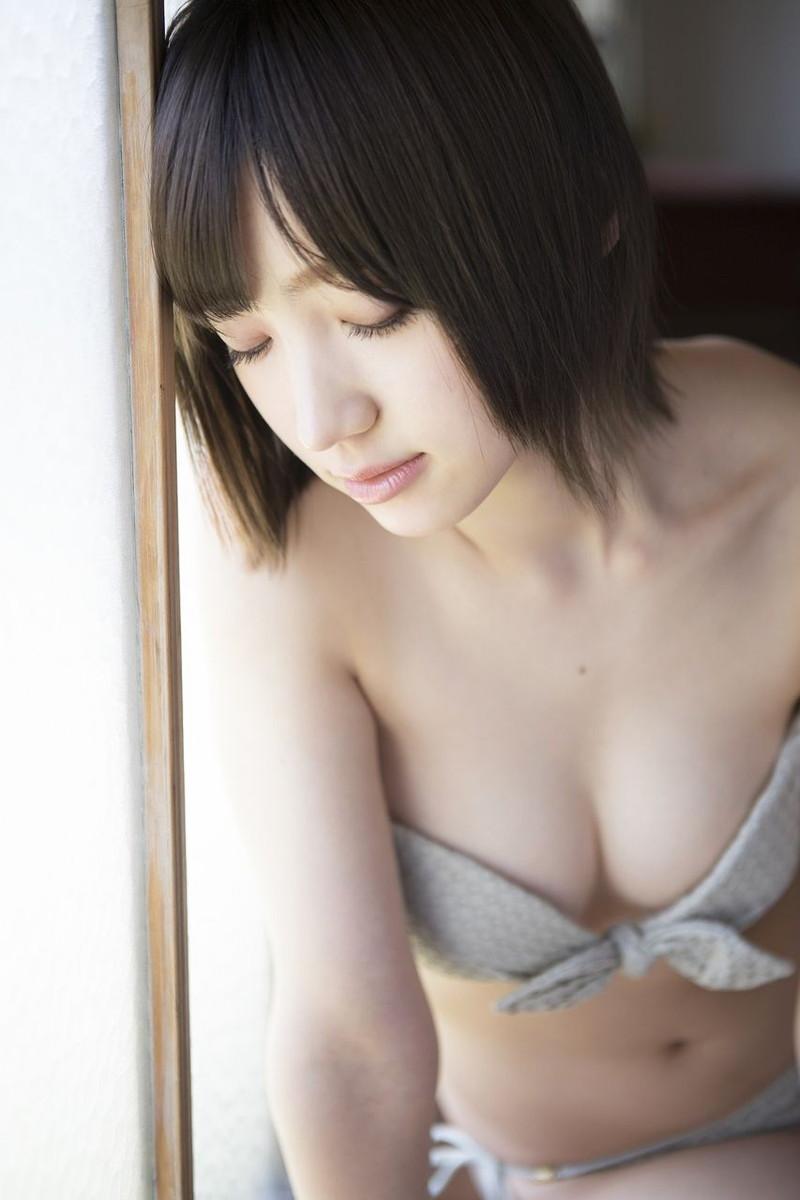【太田夢莉グラビア画像】ショートヘアが似合って可愛い元アイドル 30