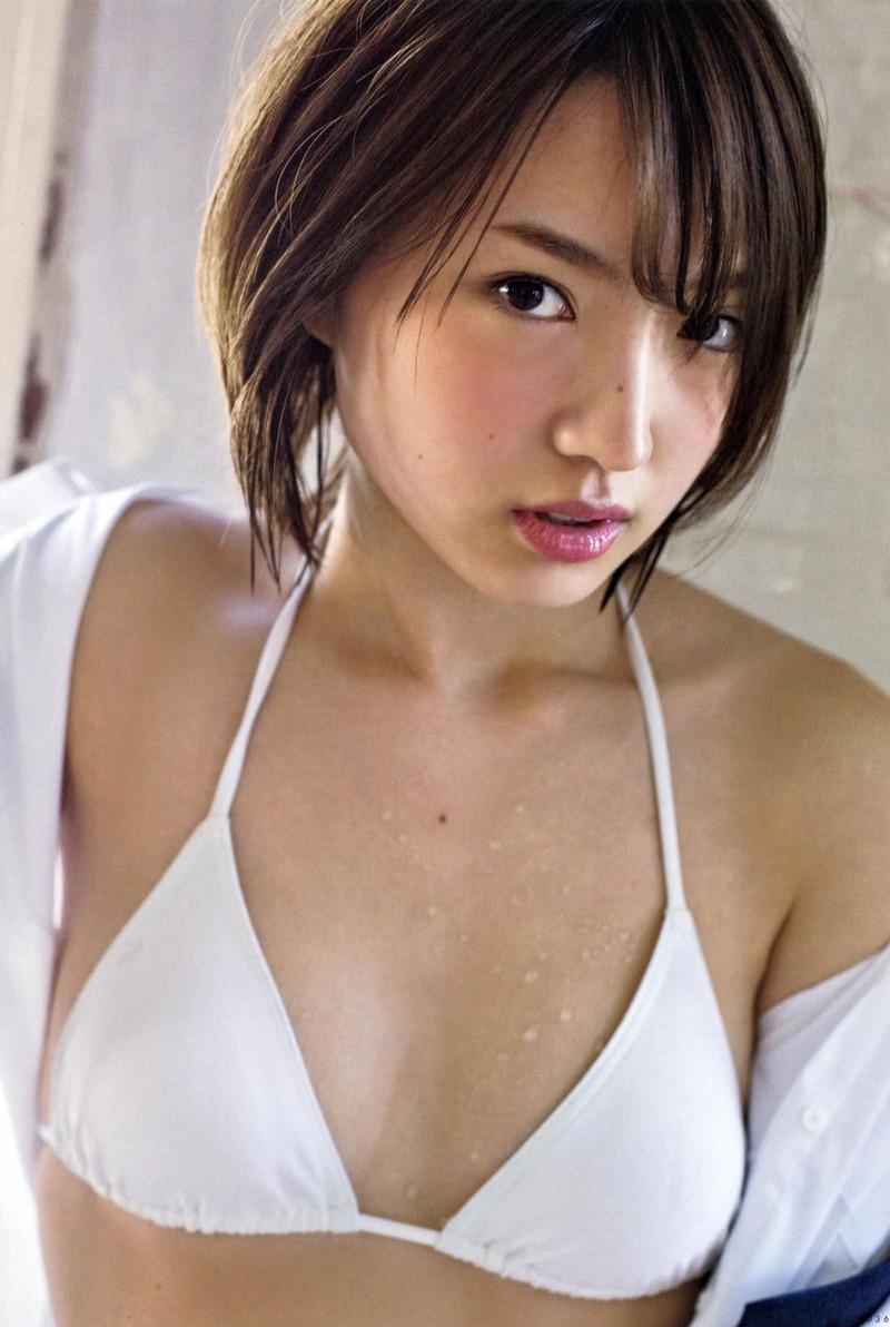 【太田夢莉グラビア画像】ショートヘアが似合って可愛い元アイドル 35