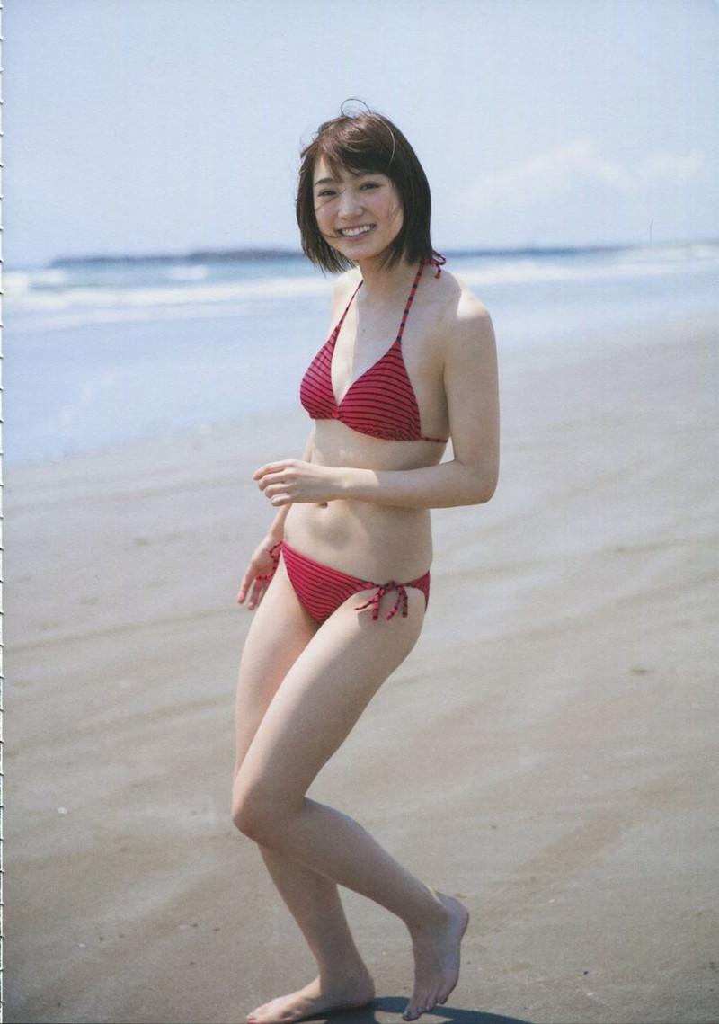 【太田夢莉グラビア画像】ショートヘアが似合って可愛い元アイドル 46