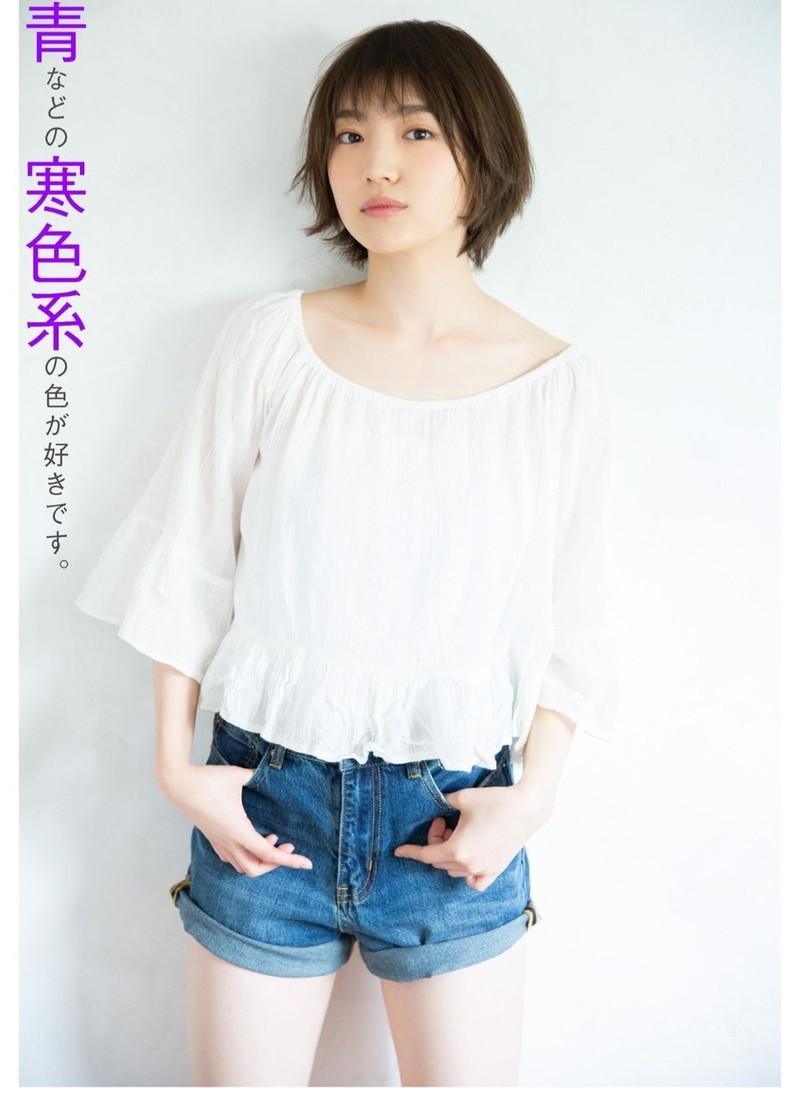 【太田夢莉グラビア画像】ショートヘアが似合って可愛い元アイドル 60